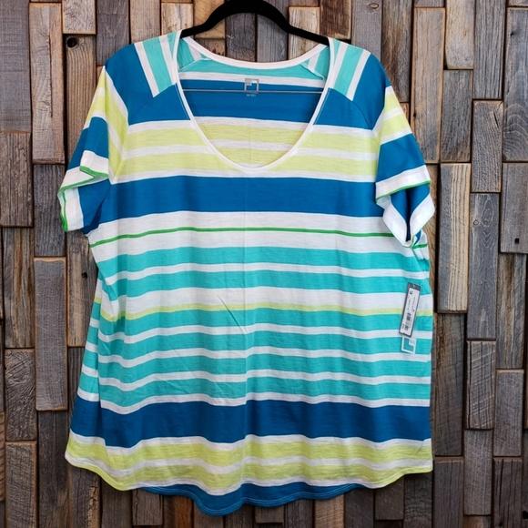 98340e05f5f417 jcpenney Tops | Jcp Short Sleeve Plus Size 3x Top Shirt C13 | Poshmark